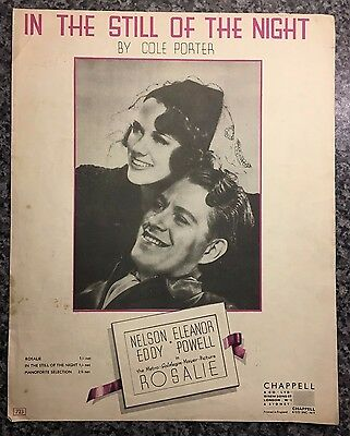 Vintage Sheet Music - In The Still Of The Night - Cole Porter