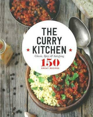 The Curry Kitchen Hardcover Book Free Shipping!