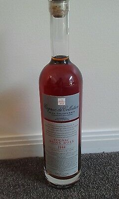 Cognac Bons Bois 1944,extremely Rare, The Best On Earth, With Original Packaging