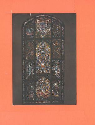 Rr Postcard Stained Glass Window Isfahan