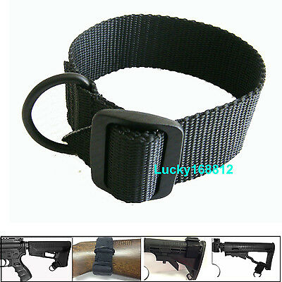 Universal Ambidextrous Single Point Sling Adapter Black LOW PRICE