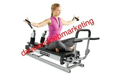 Pilates Reformer Strengthen Tone Firm Muscles High Impact Low Intensity Exercise