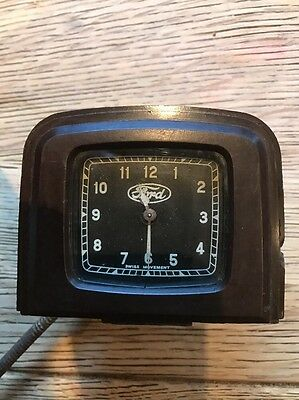 Vintage Ford Bakelite Car Clock