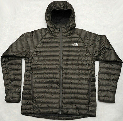 THE NORTH FACE HOMETOWN HOODIE - 600 GOOSE DOWN warm MEN'S SWEATER JACKET - L