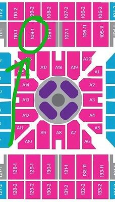 2x Adele Sydney A Reserve Floor Seated Concert Tickets 11th March 2017 Saturday