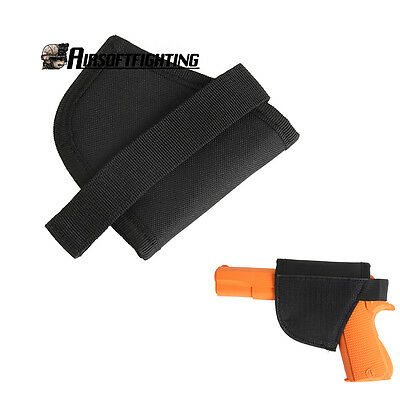 Hunting Pistol Pouch Gun Bag Mobile Portable Attached Holster Black Military