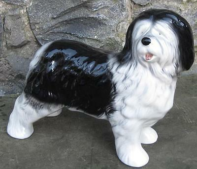 Vintage Melba ware old English sheep dog