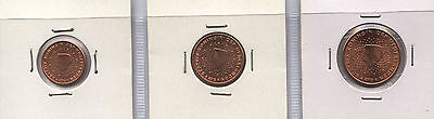 Holanda - Netherlands - Holland 2013 - 1, 2, 5 Cent Sc / Unc