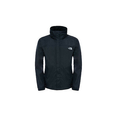 The North Face Men's Lightweight Waterproof Resolve Black Jacket
