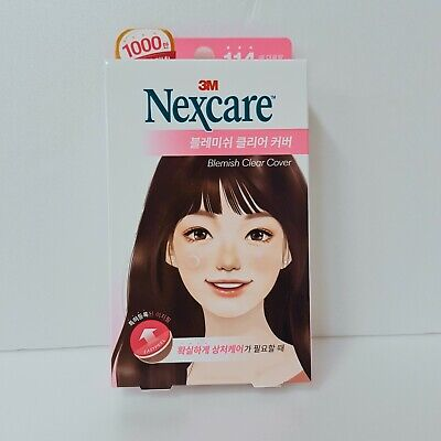 Genuine 3M Nexcare Blemish Clear Cover Acne Pimple Cover Patch - 114 EA