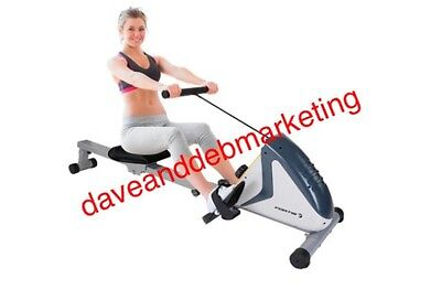 Flywheel Rowing Machine Magnetic Workout Fitness Cardio Resistance Training