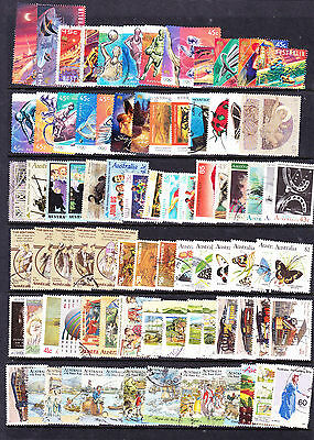 Australian stamps - 150 approx Used