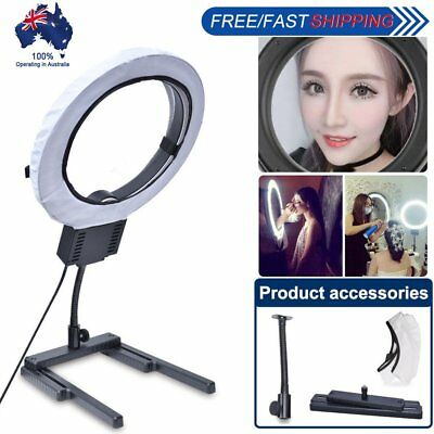 AU Studio Diva 40W Ring Light + H-Stand + Diffuser Makeup Beauty Selfie Video