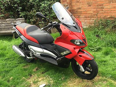 2007 Gilera Nexus SP 250 - Red/Black, 14K, 3 Owners, Serviced With New Tyres