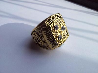 American Football -NFL Replica Vintage Championship Ring-Pittsburgh Steelers1978