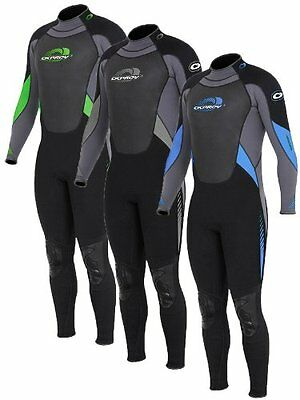Age 4-5 years full osprey wetsuit grey/black 24 inch chest swimming kayaking boy