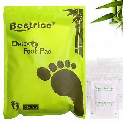 Top 100 Pcs Detox Foot Pads Detox Pad For Patch Detoxify Toxins With Adhesives
