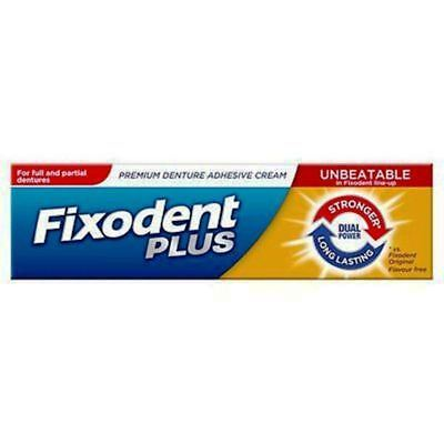 Fixodent denture adhesive cream dual power 35 ml