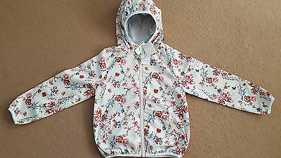 BNWT Next girls Floral Cagoule jacket size 7 years