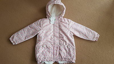 BNWT Next pink floral girls jacket size 4-5 years