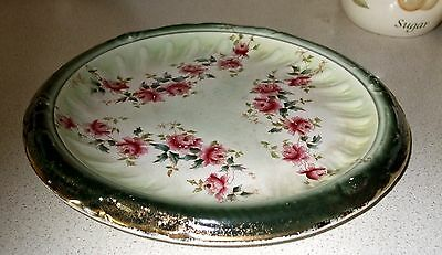 British Anchor Pottery Co. Victorian Bread Serving Plate, Platter, 1891-1913