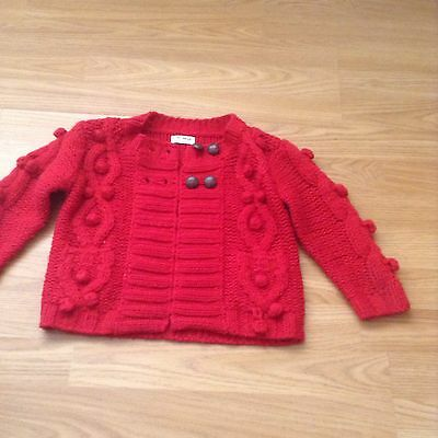 Next  Kids Lovely Red Jacket Size 2-3 Years