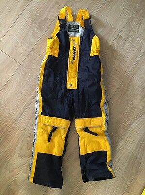 Hunt Ski Trousers Salopettes Age 4-5 Years Snow Winter Child