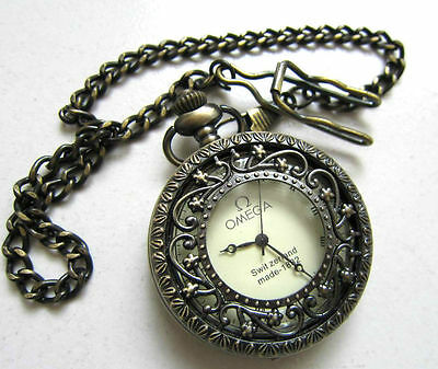 China's Tibet copper can use mechanical pocket watch old form and chain