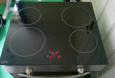 induction electric hob and oven