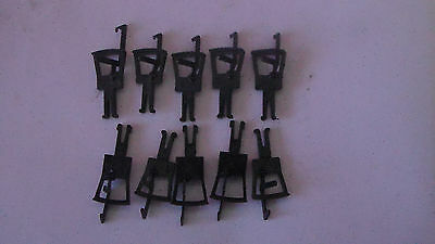 Ten Bachmann/Hornby recent Style plastic (small) couplings