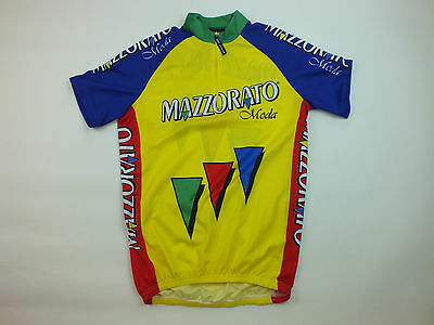 Vintage Mazzorato Short Sleeve Cycling Jersey (125)