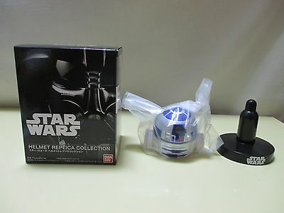 "Bandai Star Wars Mini Helmet Replica Collection 1 R2-D2 for 12"" 1/6"