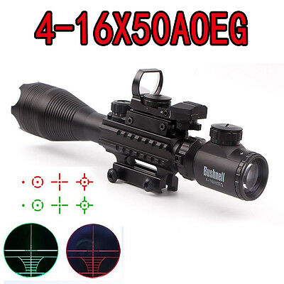 Bushnell 4-16X50 EG Tactical Hunting Scope Sight with Mount Sight &Sight Lens