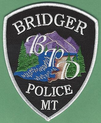 Bridger Montana Police Patch