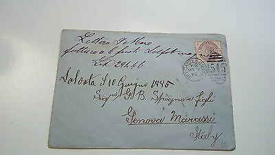 Gb Cover Qv 1885 Italy Newcastle --- Check Other Auctions Post Letter Card