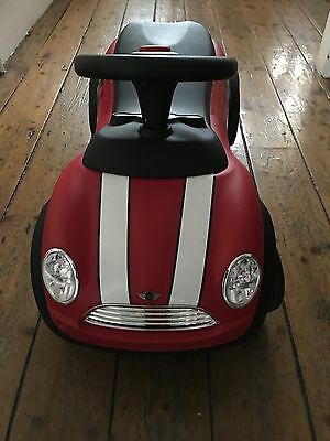 Child's BMW Mini Ride On Red Car