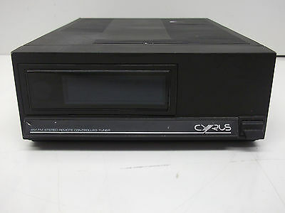 Cyrus AM/FM Stereo Remote Controlled Tuner - Not working.