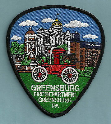 Greensburg Pennsylvania Fire Department Patch