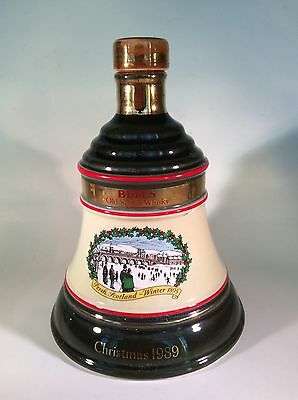 Bell's Whisky Decanter Christmas 1989