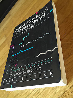 Amiga Rom Kernel Reference Manual Libraries Third Edition