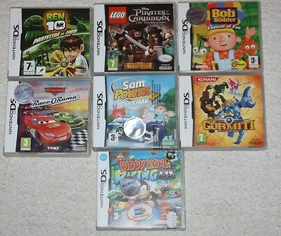 Nintendo DS games lot for young children