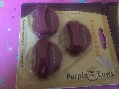 Decorative Blades From Purple Cows