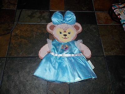 NEW Disney Parks 2016 Frozen's Elsa SHELLIEMAY The Bear Duffy Costume Outfit