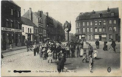 LL postcard Armentieres France. La Place Chanzy