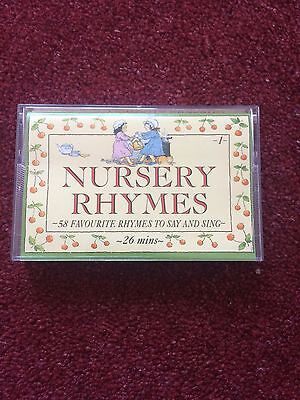 Nursery Rhymes - Cassette - Good Condition