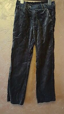 girl trousers black H& M 6-7 years
