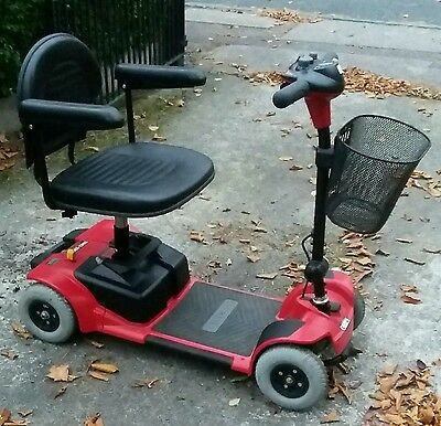 Pride Go Go Foldable Mobility Scooter - Excellent Condition