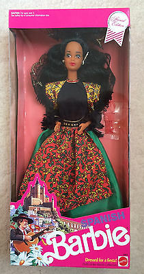 1991 SPANISH BARBIE Dolls of the World Collection NRFB
