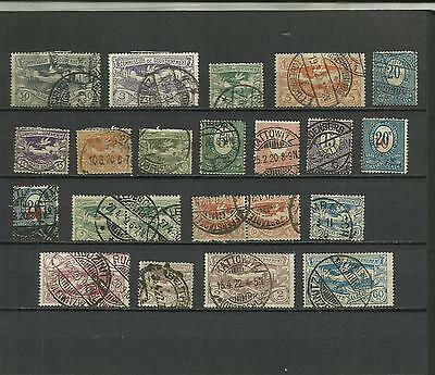 Germany, small collection Upper Silesia, used