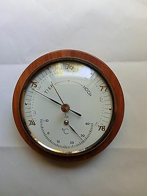 Lufft  Barometer Thermometer